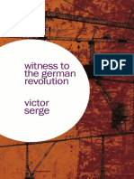 Victor Serge Witness to the German Revolution Writings From Germany 1923