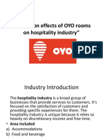 A Study on Effects of OYO Rooms FINAL