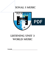 World Music Booklet