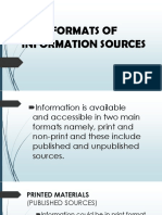 FORMATS OF INFORMATION SOURCES.pptx