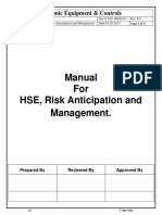 M-011 Health Safety & Environment Risk Anticipation Managment