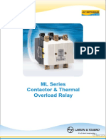 L T Thermal Overlod Relays ML