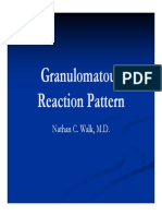 Granulomatous Reaction Pattern