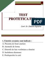 Test Preparatii Anul IV.doc