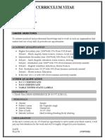 VINTEE resume