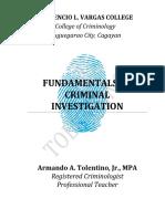 318158340 Fundamentals of Criminal Investigation TextBook