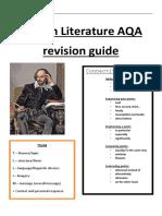 English Literature GCSE Revision Guide 2019