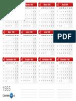 Calendario 1985 v2.0