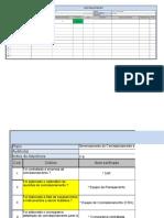 Checklist - Plano de Comissionamento 2
