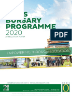 Bursary Application Form 2020