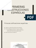 Primeras construcciones españolas