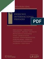Derecho Internacional Privado Maria Elsa Uzal
