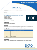 Introduction to ADSL2+ Testing