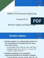 (Boolean Algebra)