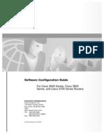 Cisco 2600 Software Conf Guide
