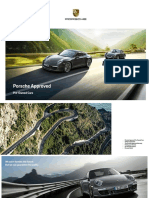 Porsche Approved Pre-Owned Car Brochure