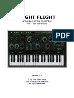 User Manual - Night Flight