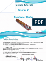 Tutorial 21 Feedwater Heater