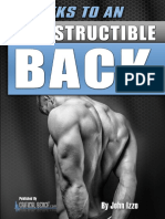 8 Weeks To An Indestructible Back