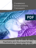 Psychiatry and Neuropsycology_PHD