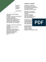 HINOS PARA CÉLULA 284.docx