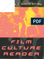 Sitney Adams P Ed Film Culture Reader 2nd Ed 2000