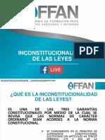 #Preguntas de Privado - Inconstitucionalidad de Las Leyes