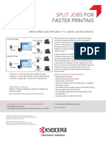 Kyocera Cluster Printing F Data Sheet