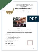 DETERMINACIÓN DEL ÓXIDO DE CALCIO EN EL CARBONATO DE CALCIO