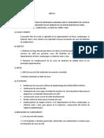 Plan de Acción Declaratoria de Emergencia Sanitaria Ante El Incremento de Casos de Sindrome de Guillain Barré