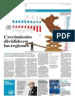 Crecimiento Dividido en Las Regiones