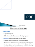 File System Structure in Operating system