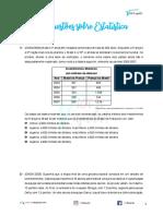 ME02 - 100 questões sobre Estatística