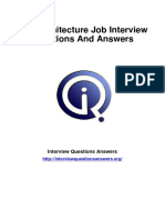 543 Net Architecture Interview Questions Answers Guide