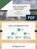 Relación de Ingeniería Civil Con Otras Profesiones