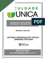 Leitura e Produção Textual- Genero Textual