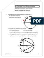 Circle Theorems Gcse Higher With Answers Mathsmalakisscom