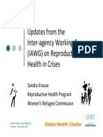 Iawg Reproductive Health