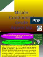 Mision Continental Desde Aparecida