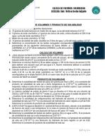 Calculo de Volumnes y Producto de Solubilidad- Guia 7-1