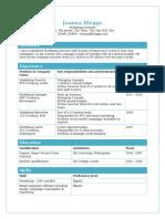 Tables-CV-template.doc
