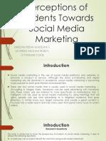 Perceptions of students towards Social Media Marketing