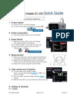 BT-250  Quick Guide(250-EN-QG-R00)20140314