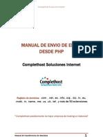 Manual de Envio de Correo Desde Php
