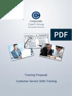 Customer Service Training in House Prospectus