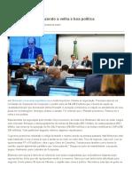 Planalto Prevalece Fazendo a Velha e Boa Política