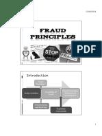 Student Fraud Principles