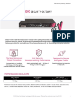 5200 Security Gateway Datasheet