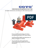 Rotary Actuator Catalogue