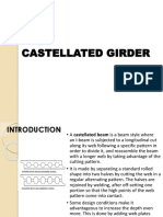 Castellated Girder